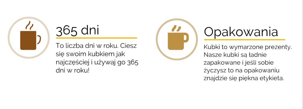 kubek z nadrukiem firmowym Kraków Konwisarzy