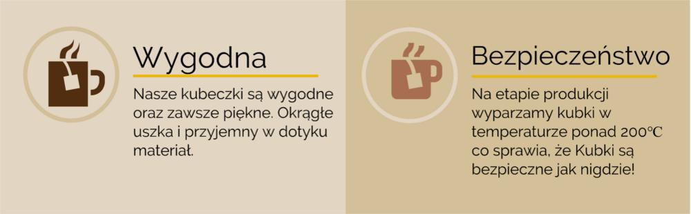 kubki reklamowe z logo firmy Kraków Domeyki