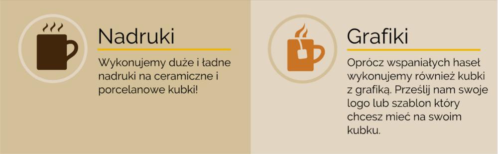 nadruk na kubkach do kawy Kraków ul. Kremerowska