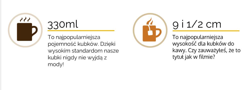 nadruk na kubkach porcelanowych Kraków ul. Fiołkowa