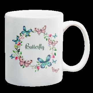 Kubki z nadrukiem Krakow butterfly