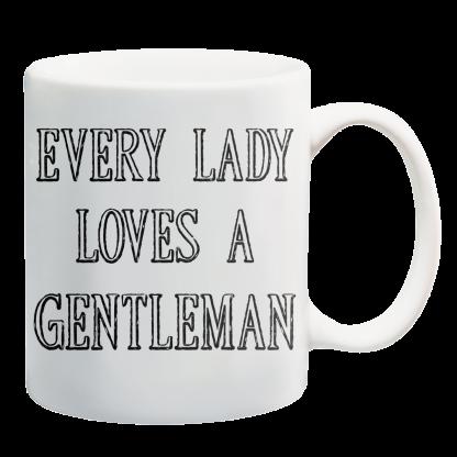 Kubki z nadrukiem Krakow every lady love gentleman