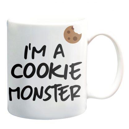 Kubki z nadrukiem Krakow i'm a cookie monster