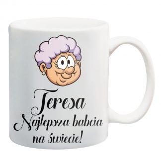 Kubki z nadrukiem Krakow najlepsza babcia